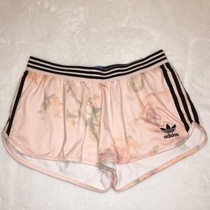 Adidas Pink Rose Shorts (Size Medium)